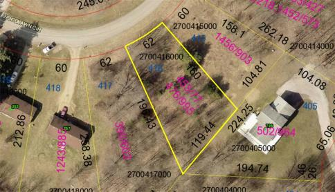Lot 416 Country Club Subdivision Howard Ohio 43028 at The Apple Valley Lake
