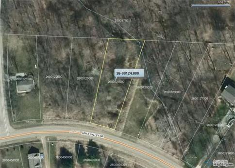 Lot 124 Green Valley Subdivision Howard Ohio 43028 at The Apple Valley Lake