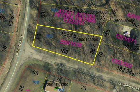 Lot 163 Baldwin Heights Subdivision Howard Ohio 43028 at The Apple Valley Lake