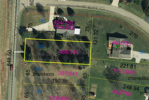 Lot 183 Country Club Manor Subdivision Howard Ohio 43028 at The Apple Valley Lake