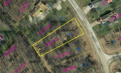 Lot 269 Valleywood Heights Subdivision Howard Ohio 43028 at The Apple Valley Lake