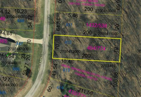 Lot 412 Country Club Subdivision Howard Ohio 43028 at The Apple Valley Lake