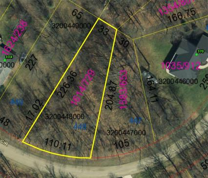 Lot 448 Highland Hills Subdivision Howard Ohio 43028 at The Apple Valley Lake