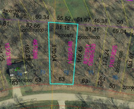 Lot 72 Apple Valley Subdivision Howard Ohio 43028 at The Apple Valley Lake