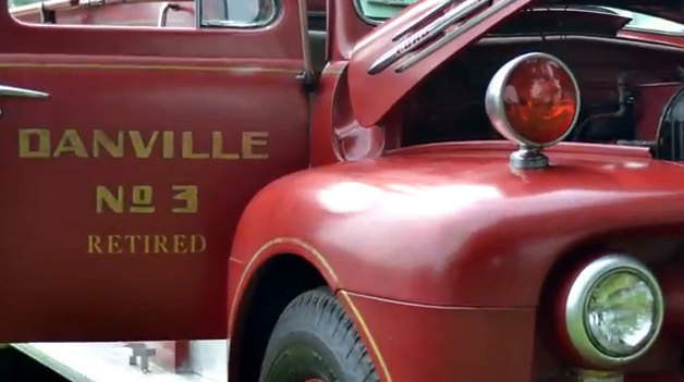 Danville Ohio Historic Fire Truck