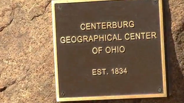 Centerburg Ohio Geographic Center of Ohio