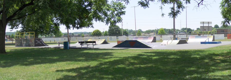 Mount Vernon Skate Park at the Memorial Park