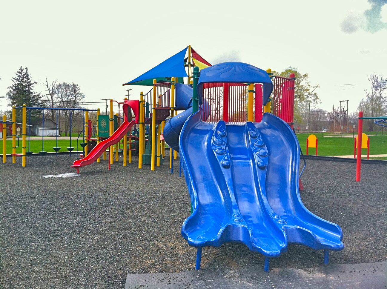 Mount Vernon Ohio Riverside Park Slide Photo by Sam Miller