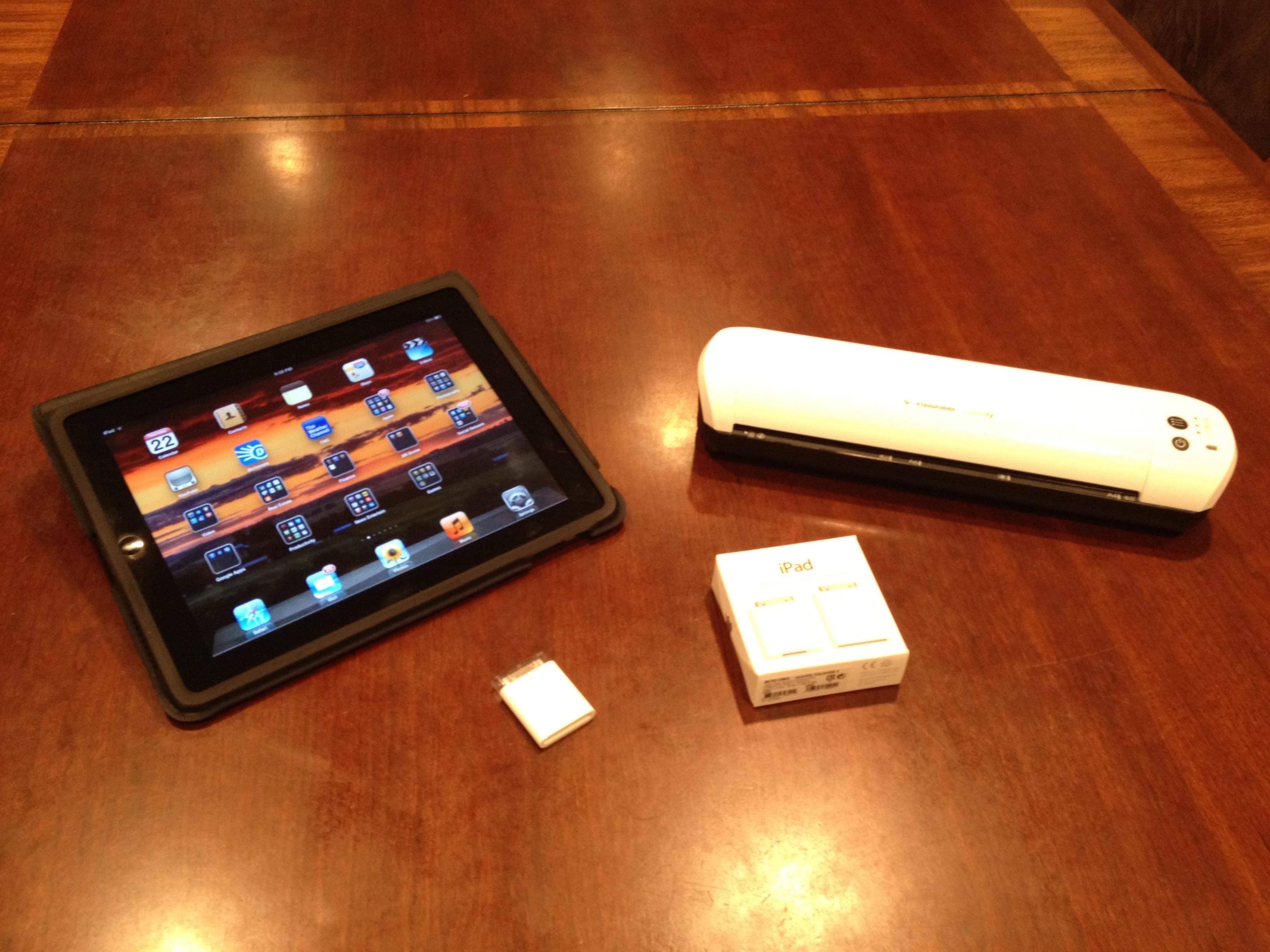 Apple iPad Scanner Photo by Sam Miller