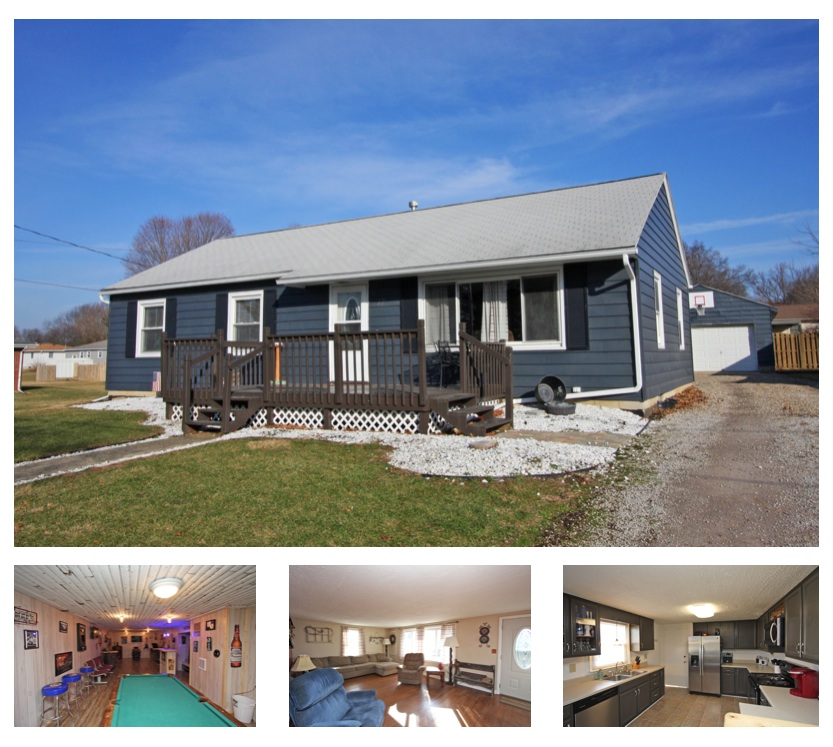Darling ranch home for sale in fredericktown ohio mount for Ranch home builders ohio