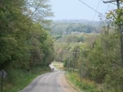Danville Ohio Country Road