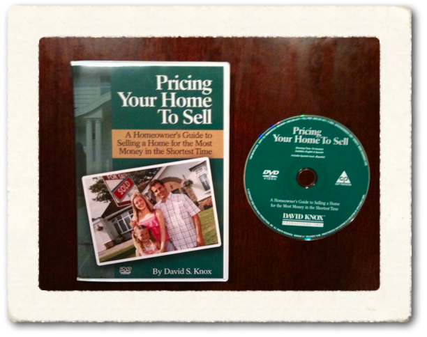 Pricing Your Home To Sell Real Estate Consumer Video by David Knox