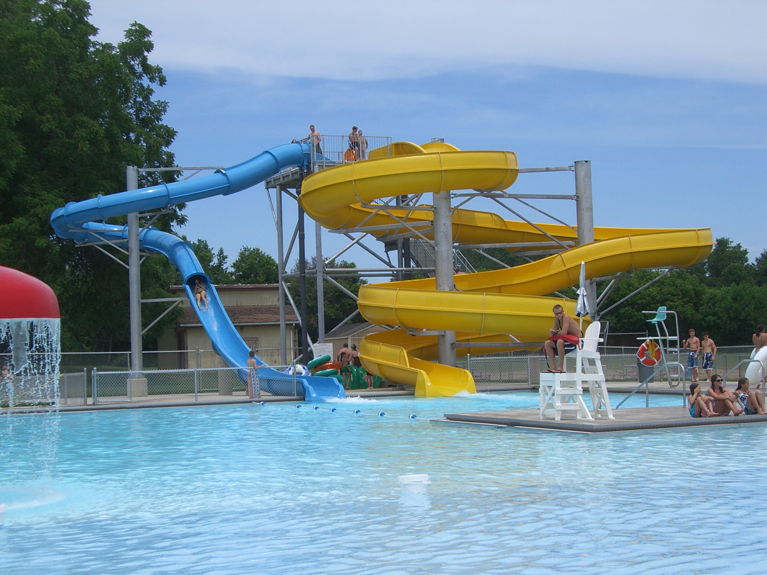 Mount Vernon Ohio Water Park photo by Sam Miller