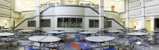 Mount Vernon Ohio Twin Oak School Lunch Room Photo by Sam Miller