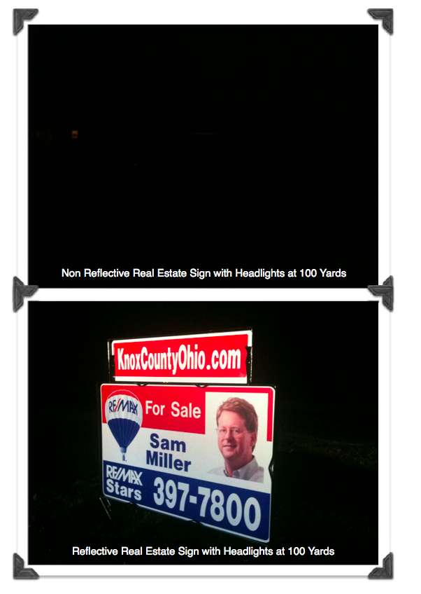 Sam Miller Real Estate Sign Comparison